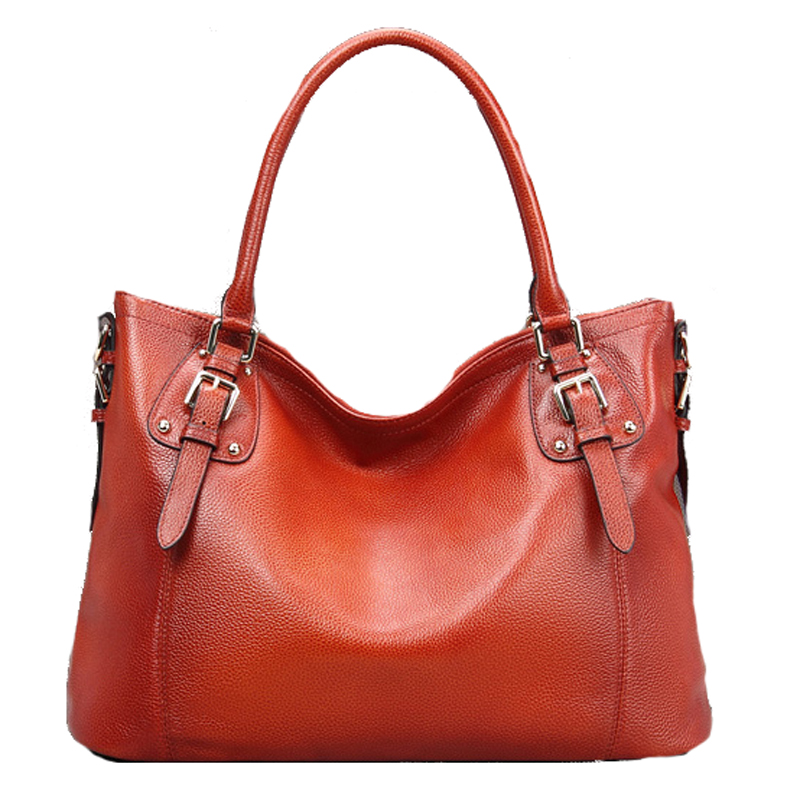цены Women Vintage Leather Shoulder Handbags Top-Handle Bag Large Capacity Totes Work Satchel Designer Ladies Purse Cross Body Bag