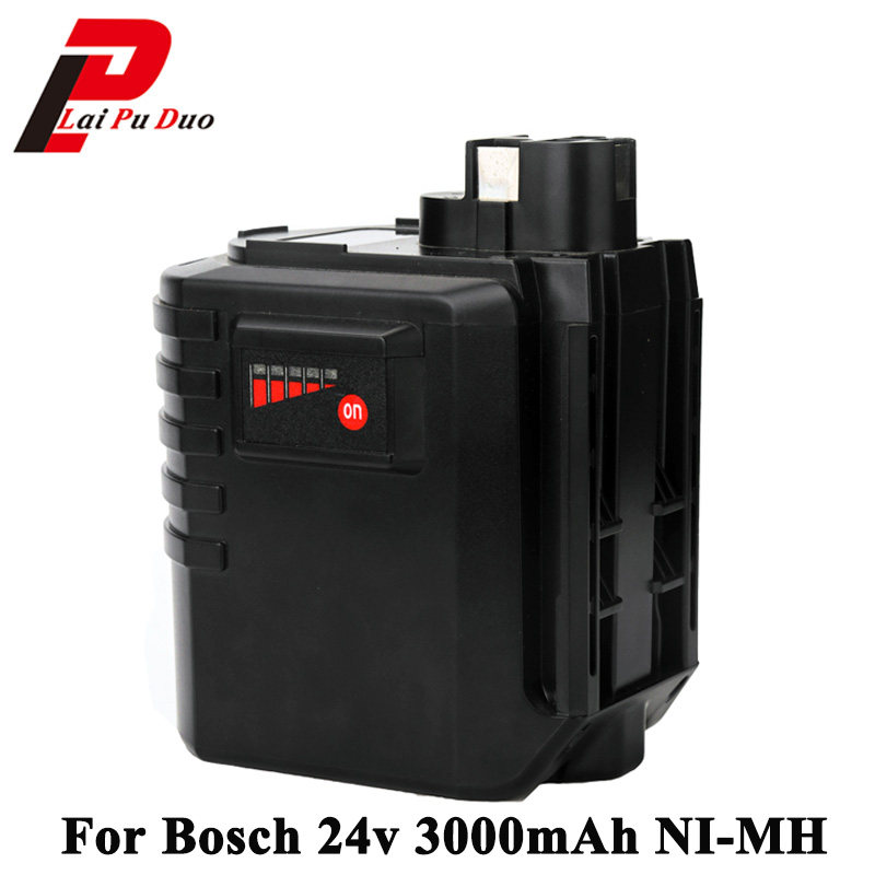 for BOSCH 24V 2000mAh NiMH battery pack GBH 24VR 11213  11213R for Wurth