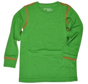 Image 4 - Новинка 100% года, детский зимний теплый свитер из чистой мериносовой шерсти, нижнее белье, Воздухопроницаемый Топ, штаны, нижний комплект для мальчиков и девочек