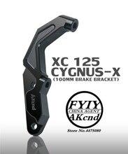 Motorrad Bremssattel Halterung Adapter Für Yamaha Roller Cygnus x Cygnus X (für 245/260mm Disc und 100mm Bremssättel)