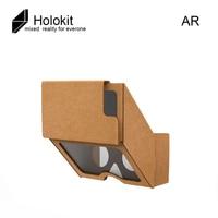 VR Holokit Glasses Google Cardboard 3 0 Virtual Reality Glasses AR Enhanced Holographic Glasses For 4