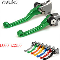 Pivot Dirt Bike Brake Clutch Lever Handle For Kawasaki KX250 2000 2001 2002 2003 2004 2005