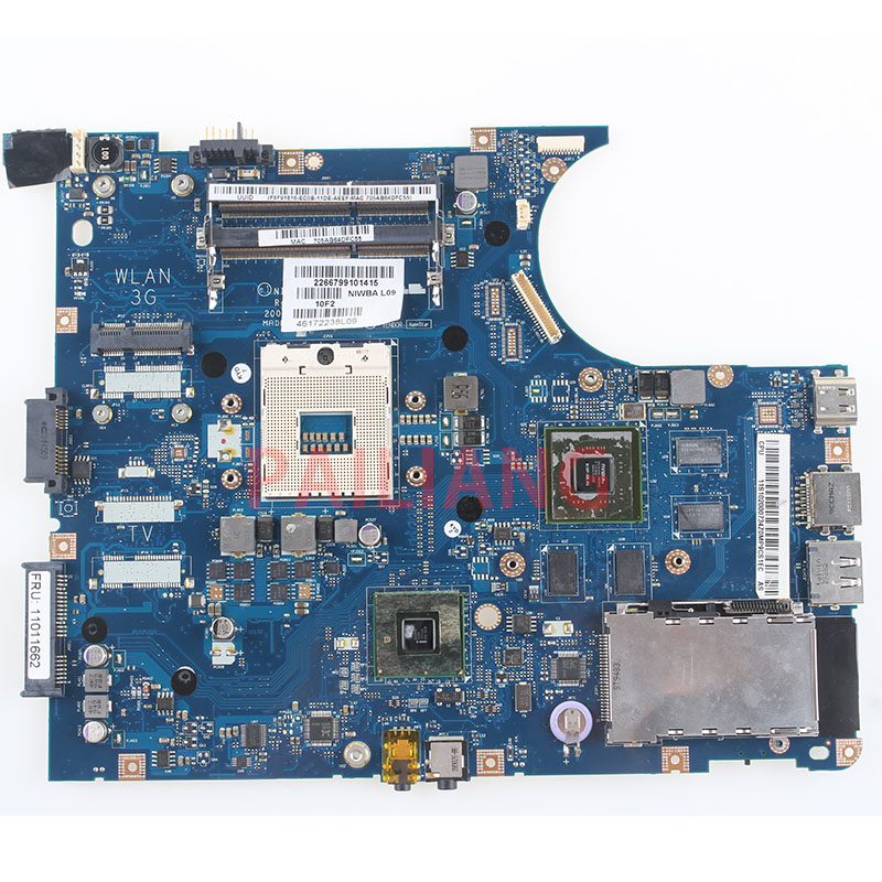 PAILIANG Laptop Motherboard For Lenovo Y550P PC Mainboard 11011662 NIWBA LA-5371P Tesed DDR3