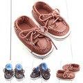 Cool nuevos Cordones Zapatos Recién Nacidos Del Bebé Niños Primeros Caminante Sapatos Niños antideslizantes Zapatos de Bebe Recién Nacido