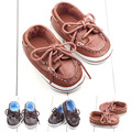 New Cool Lace-Up Baby Shoes Infants Boys First Walker Sapatos Toddlers Anti-slip Newborn Bebe Shoes