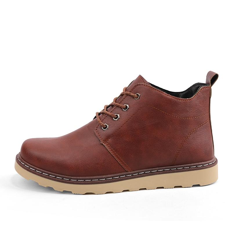 Black Ajudar Homens Dos Martin Ferramentas Curtas 5 Tendência Para Sapatos E Inverno Inglaterra Alta brown Selvagens De Outono Botas red No Neve OBngwqHO