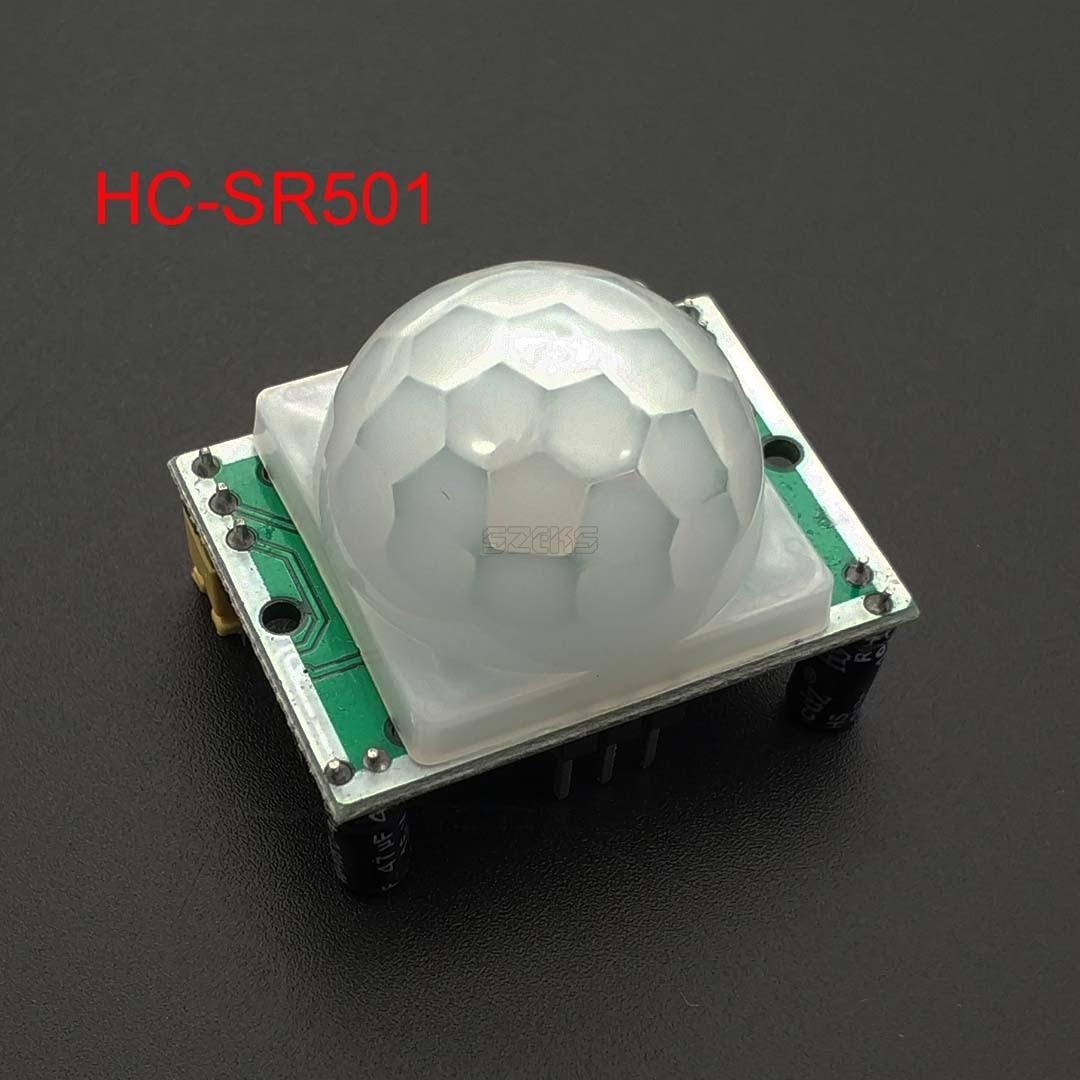 SR501 HC-SR501 Adjust IR Pyroelectric Infrared PIR Module Motion Sensor Detector Module