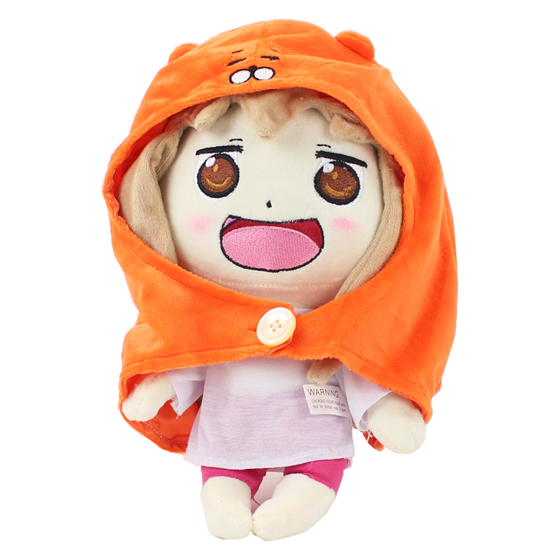Anime Small Buried Sankaku Head Himouto! Umaru-chan Umaru Doma Soft Plush Doll Toy