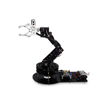 6 DOF Alloy Robot Arm Clamp Claw Turntable Base 6 Servo Complete sets LD-1501MG Rotating arm