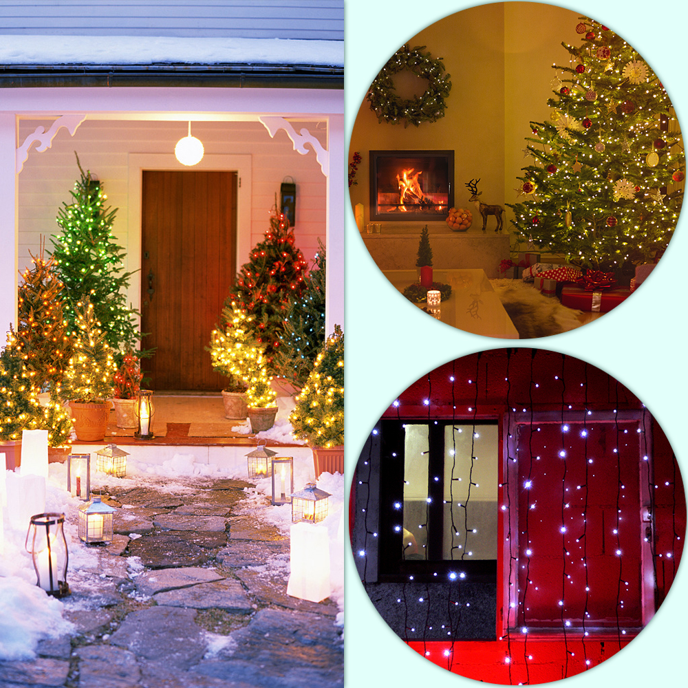Led Lighting Creative Harrisontek 3m 5m 10m Fairy Garland Led String Lights Decoration Flash For Christmas Tree Wedding Home Garden Indoor Outdoor Led String