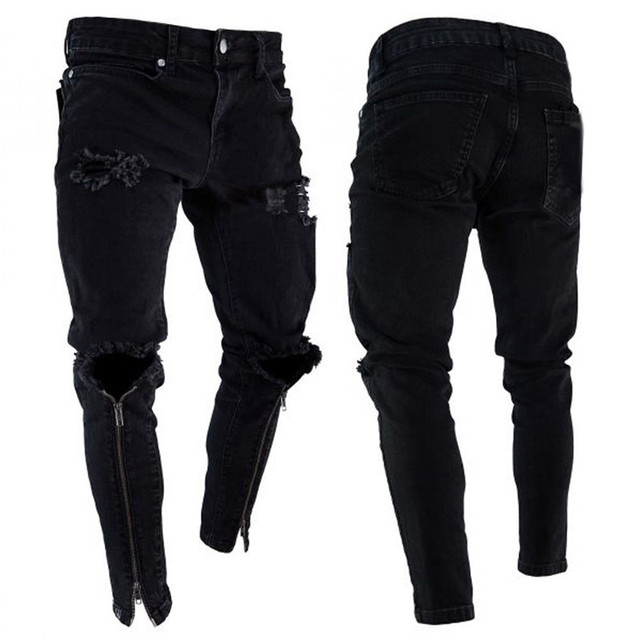 Ripped Jeans Super Skinny for Men 4