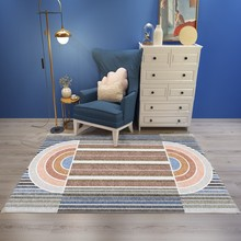 Nordic Geometric Carpets For Living Room Home Carpet Bedroom Bedside Blanket Area Rug Soft Study teppich Rugs