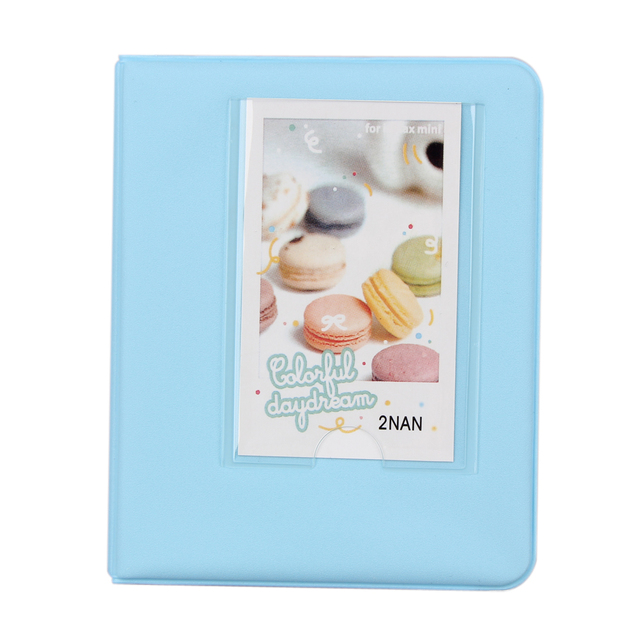 3 Inches 64 Pages Photo Autograph Scrapbooking Picture Case with Gifts for Fujifilm Instax Mini8 7s 25 50s 90 Camera Accessories