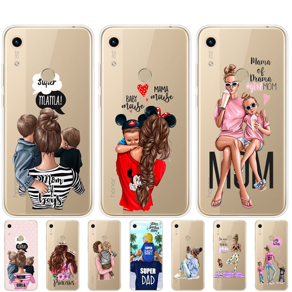 <font><b>Case</b></font> For <font><b>Huawei</b></font> Honor 8A PRO 8C 8X 10 i play <font><b>case</b></font> back <font><b>cover</b></font> for <font><b>huawei</b></font> Y5 Y6 <font><b>Y7</b></font> Y9 <font><b>2019</b></font> pro Prime Baby Mom Girl dad super image