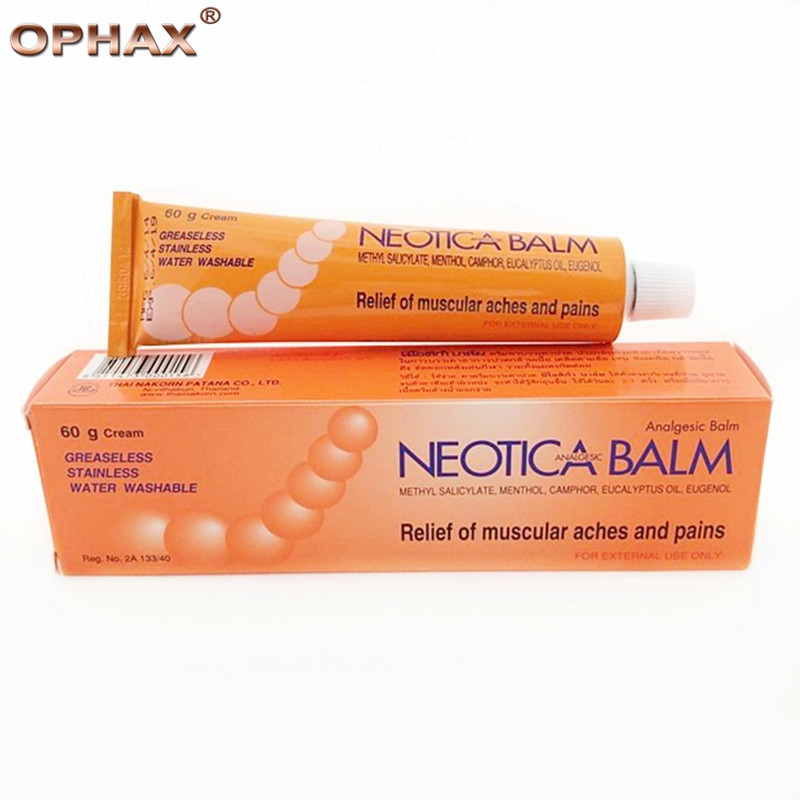 Thailand active analgesic ointment relieve muscular aches, sport sprains, arthritic and rheumatic pain relief ointment
