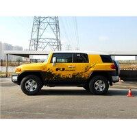car body stickers mud splash vinyl graphics cool off road car decals for toyota fj cruiser 2006 2019