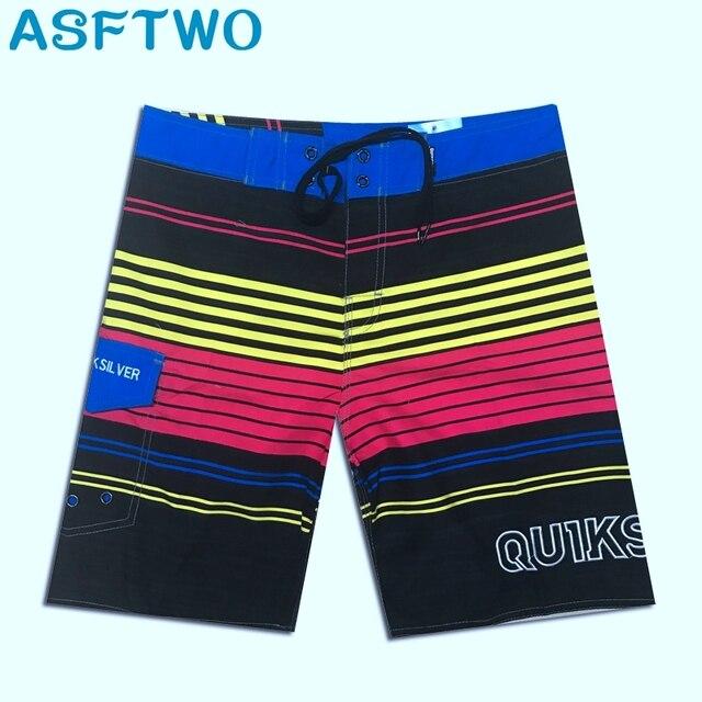 2019 Mens מכנסיים קצרים לוח לגלוש מכנסיים קיץ ספורט חוף בית ברמודה קצר מכנסיים מהיר יבש Boardshorts