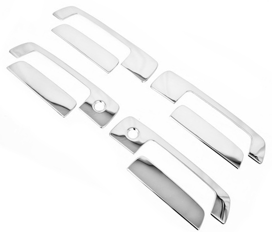 Chrome Styling Side <font><b>Door</b></font> <font><b>Handle</b></font> Cover for <font><b>Mitsubishi</b></font> Lancer / <font><b>Mirage</b></font> 97-01 / Evolution Gen 4-6 image