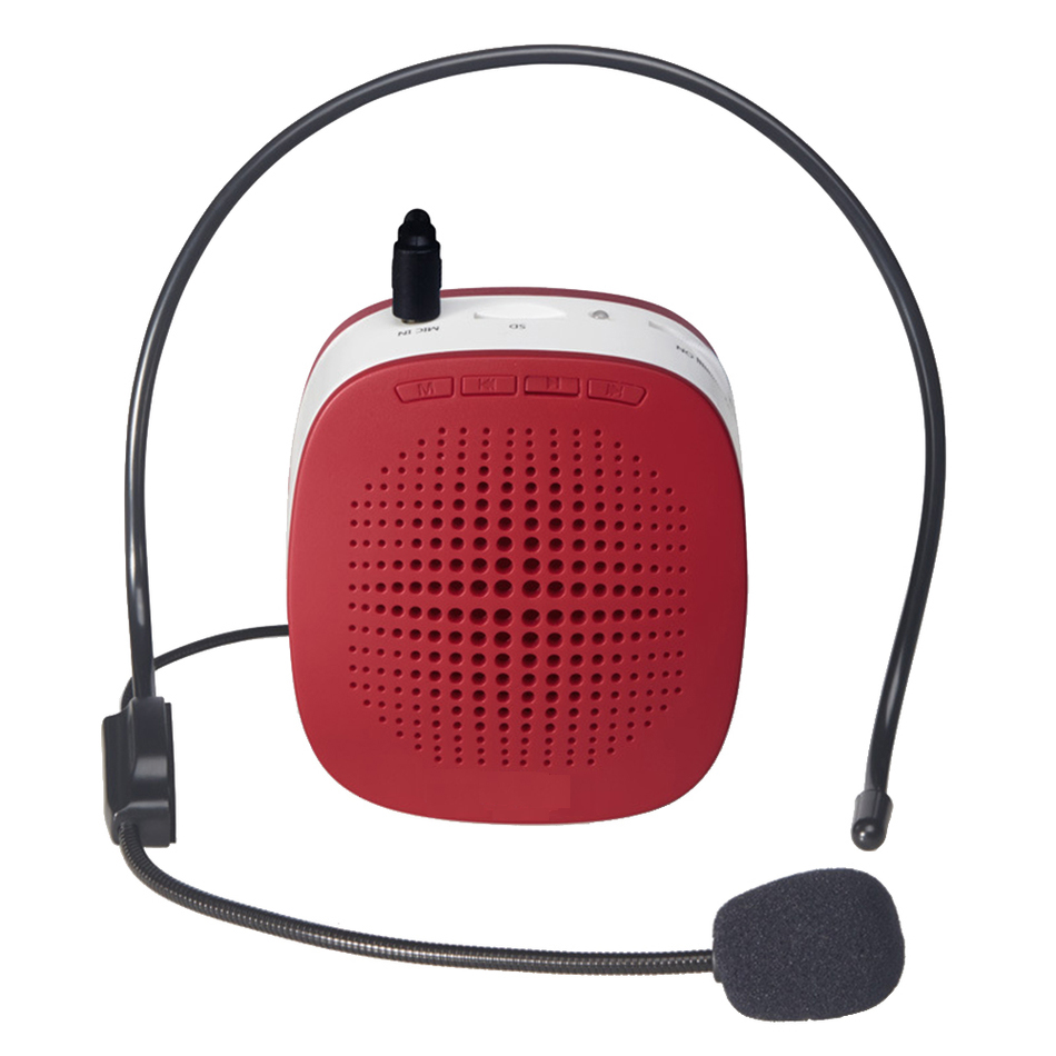 2018 Portable Mini Voice Speaker Amplifier Band For Touring How To Build Speach Guide Teaching Public Speechwith Microphone Battery Waist In Microphones From Consumer