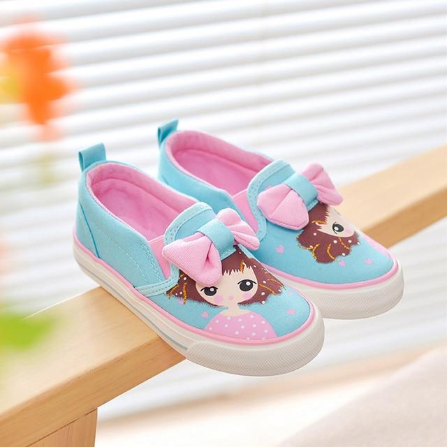 Meisjes Shoes Canvas Kinderen Kids Meisje Sneakers Schoen Baby Maat
