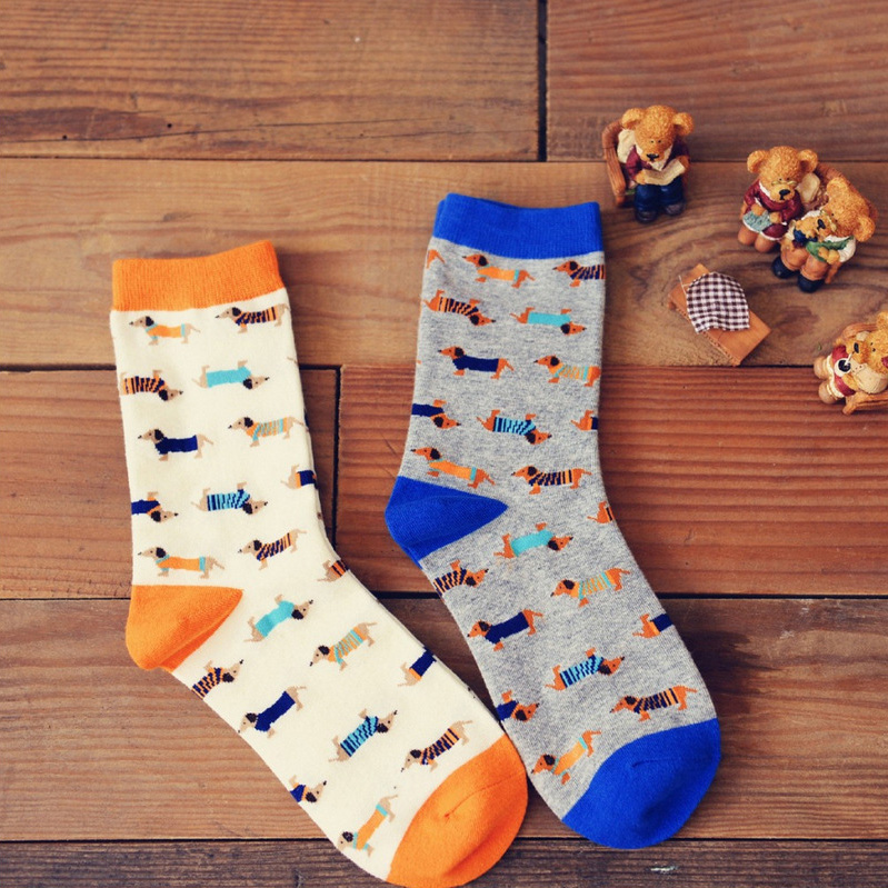Cody Steel Socks Cotton Woman Fashion Socks Brand Men Cute Cartoon Casual Breathable Mens Funny Socks 4pairs/lot