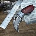 LCM66 Damaskus Karambit Folding Messer csgo Geschenk Taktische Tasche Messer  outdoor camping dschungel überleben schlacht selbstverteidigung werkzeug
