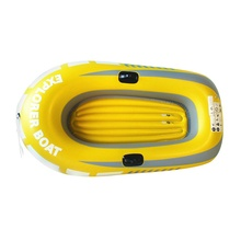Rubber boat Inflatable boat PVC Black Comfort Grips inflatable rubber accessories 2/3/4 person kayak marine water island fishing free shipping 7 1 1m inflatable banana boat for sale inflatable water banana boat