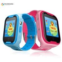 IPX7 Водонепроницаемый Smart Android 4G Камера gps Wi Fi детские наручные SOS вызова видео монитор трекер расположение WhatsApp часы