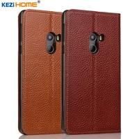 Case For Xiaomi Mi Mix KEZiHOME Genuine Leather Flip Stand Leather Cover For Xiaomi Mi MIX