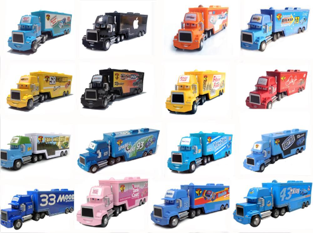 New Pixar Cars 2 Toys Truck Hauler Diecast Metal Toys For Children