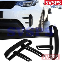 High Quality Car Styling Tuning Parts Front Air Side Vents ABS Grill Gloss Black for Land Rover Discovery 5 model L462 2017+year