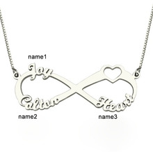 Personalized Heart Letter Necklace