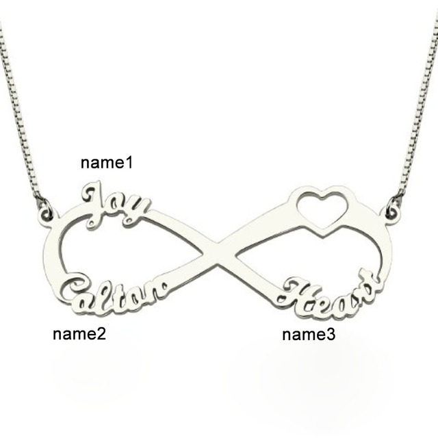 Personalised Name Necklace 925 Sterling Silver