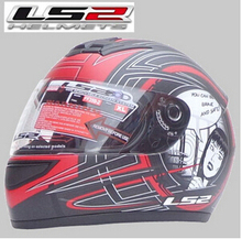 Free shipping authentic LS2 FF350 motorcycle helmet helmet full helmet Specials / Asian flash black / red flower girl