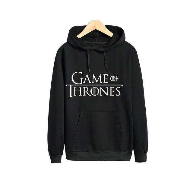 eb7ccc841dd2 Vsenfo Game Of Thrones Sweatshirt Valar Morghulis House Stark Winter Is  Coming Hoodies Casual Pullover Men Hoodies Sweatshirts