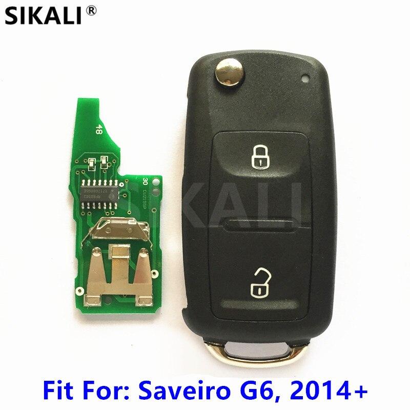 Car Remote Key for GOL Saveiro G6 for VW/VolksWagen 2014 2015 2015 2017