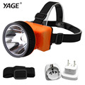 YAGE head light led flashlight head lamp for Fishing High-light headlamp switch specialized outdoor lamp with battery new 5592E