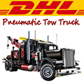 2017 New LEPIN 20020 1877Pcs Technic Series Pneumatic Tow Truck Model Building Kits Blocks Bricks Toys For Children Gift 8285