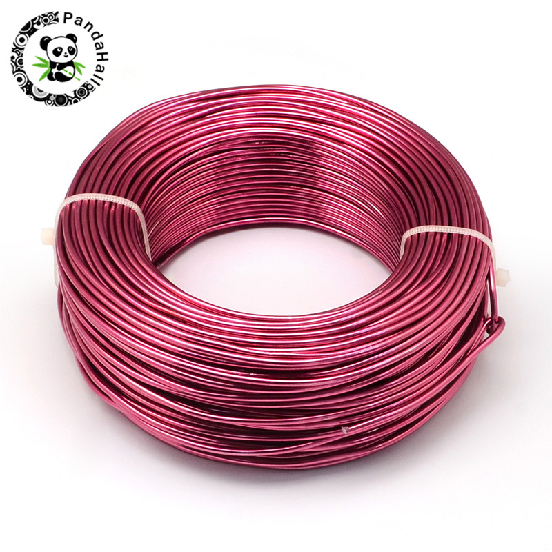 0.8mm 1mm 1.2mm 1.5mm 2mm 2.5mm 3mm 3.5mm 4mm Aluminum Wire For Jewelry Design Making DIY