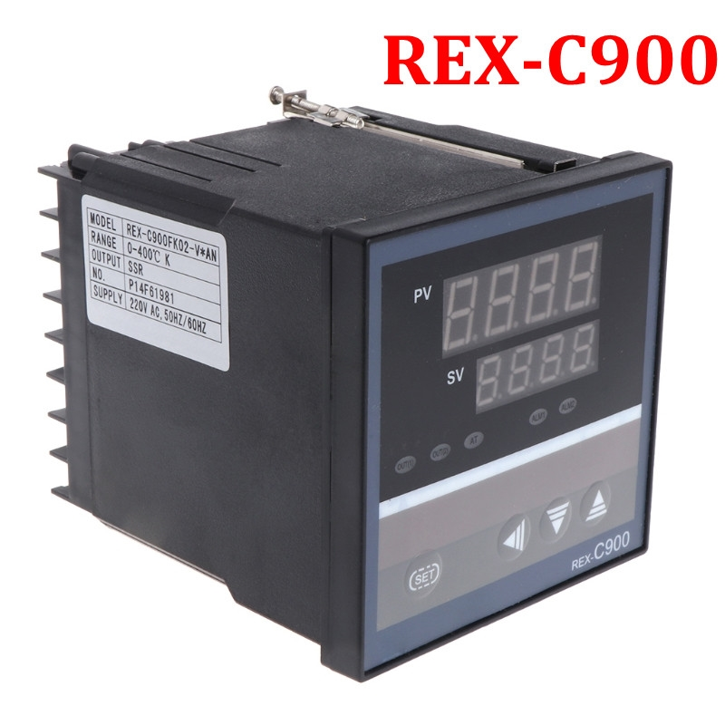 PID Temperature Controller REX-C900 Universal Input Multi-input SSR Relay Output 96*96mm Thermostat Regular