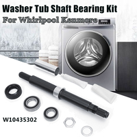 W10435302 Washer Tub Shaft Bearing Kit For Whirlpool Kenmore PS3503261 AP5325033