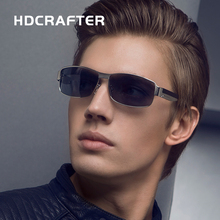 HDCRAFTER Marke Retro Sonnenbrille Polarisierte männer oculos Beschichtung Spiegel Fahren Sonnenbrille Brillen Zubehör