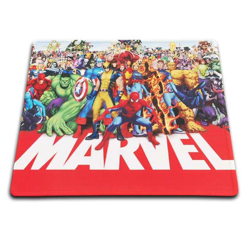 ᐊbabaite Marvel Heros Imprimer Gaming Tapis De Souris Ordinateur