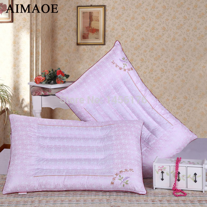 ФОТО Ecological lavender neck guard health care pillow pillow wholesale 42 * 68