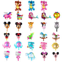 Mini Baby Animal Minnie Mickey Bear Party Aluminum Film Baby Balloons Children's Toys Birthday Party Decoration(China)
