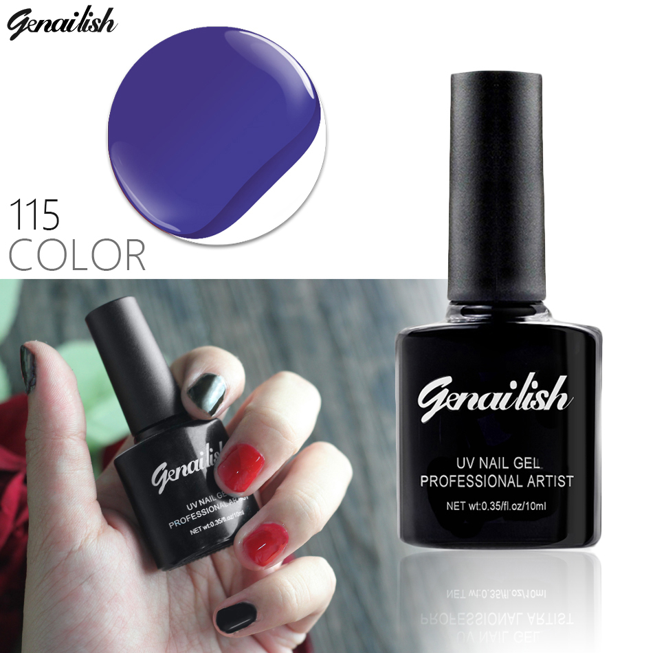 Uv Gel Nail Polish: 115 Colors Gel Nail Polish UV Gel Polish Long Lasting Soak