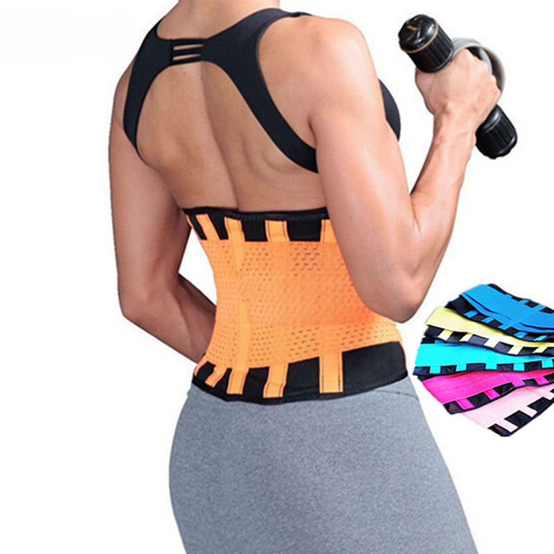 Women Medical Lower Back Brace Posture Correction Waist Belt Spine Support Belts Breathable Lumbar Corset Y123 Aofeite