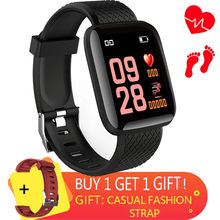 Digital LED Screen Touch Men's Sports Smart Watch HR Blood Pressure&Oxy Monitor Woman's Wrist Watch Male Clock Relogio Masculino led digital touch screen red backlight wrist watch red 1 x cr2016