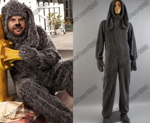 Wilfred Dog Lovely Uniform Jumpsuit Halloween Cosplay Costume Custom Made
