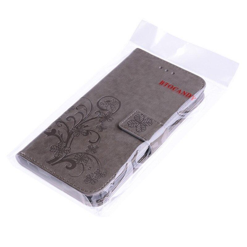 Dla iPhone 5S 4S 5 6 S 6S 8 7 Plus Skórzane etui z klapką do - Części i akcesoria do telefonów komórkowych i smartfonów - Zdjęcie 6